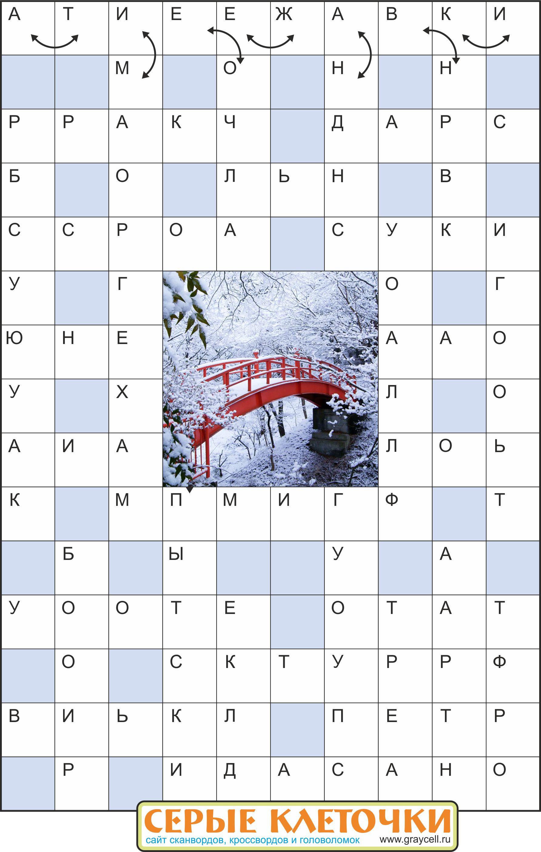 Характеристика картинки 13 букв сканворд