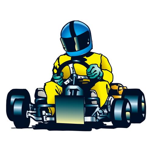 Открытка для гонщика